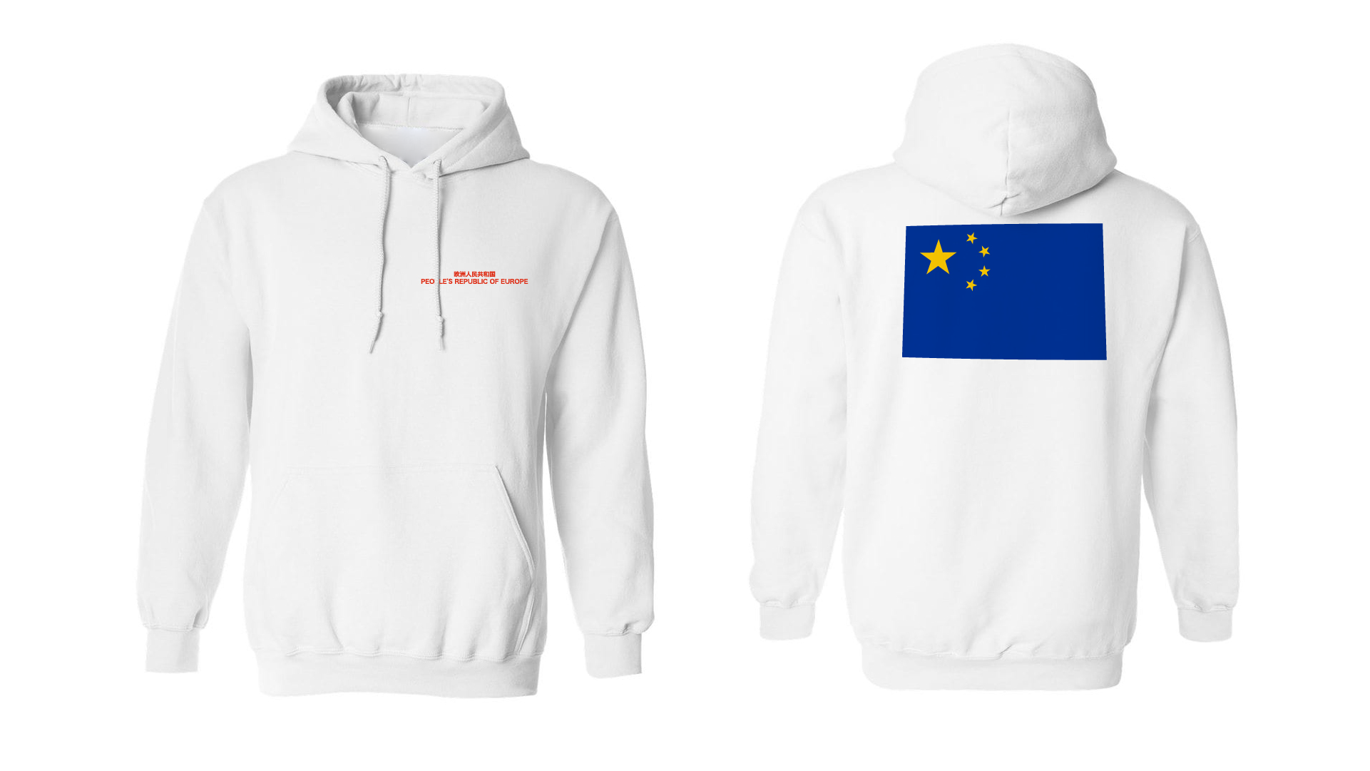 Hoody Blue Flag